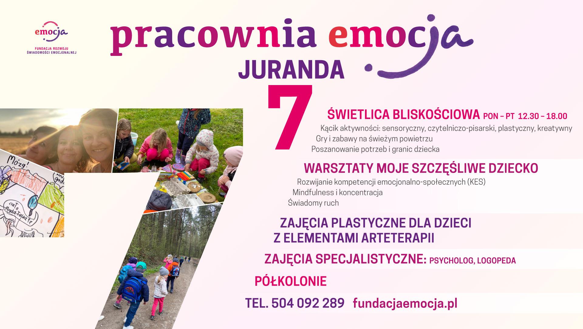 Fundacja EmocJa Lublin Juranda 7
